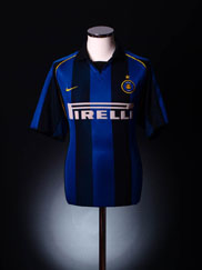 2001-02 Inter Milan Home Shirt XXL