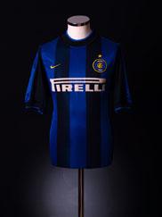 2000-01 Inter Milan Home Shirt XL