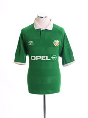 2000-01 Ireland Home Shirt Y