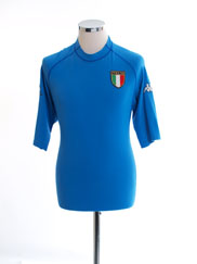 2000-01 Italy Home Shirt *Mint* XL