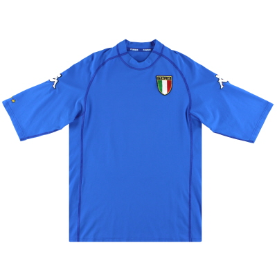 2000-01 Italy Home Shirt *Mint* L