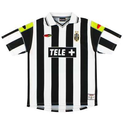 2000-01 Juventus Lotto Home Shirt L