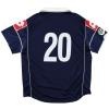 2000-01 Juventus Match Issue Away Shirt #20 XL