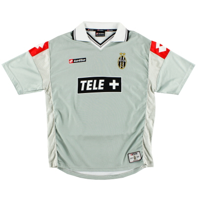 2000-01 Juventus Lotto Third Shirt L