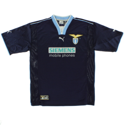2000-01 Lazio European Away Shirt L