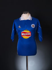 2000-01 Leicester Home Shirt XL