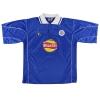 2000-01 Leicester Le Coq Sportif Home Shirt Savage #8 XL