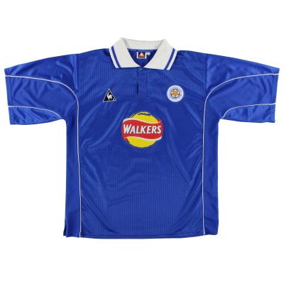 2000-01 Leicester Home Shirt XL