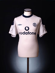2000-01 Manchester United Away Shirt XL