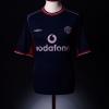 2000-01 Manchester United Third Shirt Beckham #7 XL