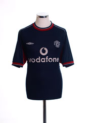 2000-01 Manchester United Third Shirt M