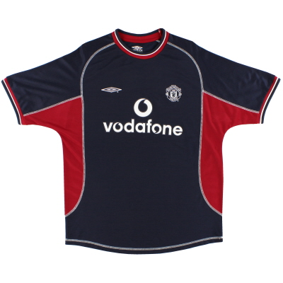 2000-01 Manchester United Umbro Third Shirt L