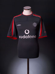 2000-01 Manchester United Umbro Training Shirt L