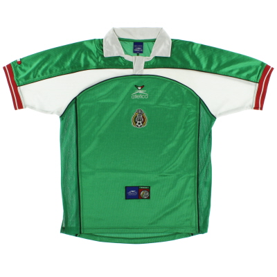 2000-01 Mexico Home Shirt M