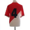 2000-01 Monaco Player Issue Home Shirt #4 XL