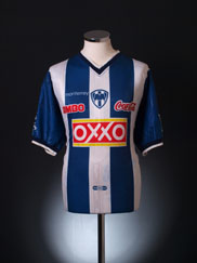 2000-01 Monterrey Home Shirt XL