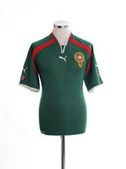 2000-01 Morocco Home Shirt XL