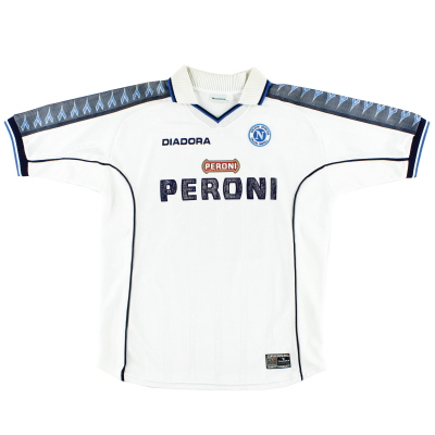 2000-01 Napoli Away Shirt XL