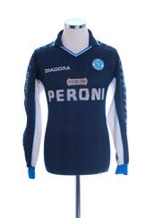 2000-01 Napoli Third Shirt L/S S
