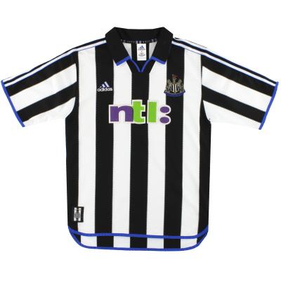 2000-01 Newcastle United adidas Home Shirt M
