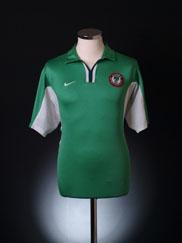 2000-01 Nigeria Home Shirt XL
