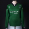 2000-01 Northwich Victoria Player Issue Home Shirt #3 L/S XL