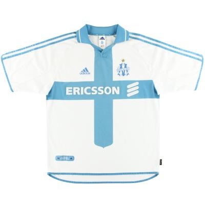 2000-01 Olympique Marseille adidas Home Shirt L