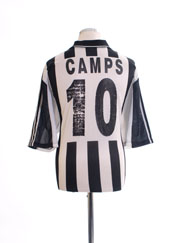 2000-01 PAOK Home Shirt Camps #10 XL
