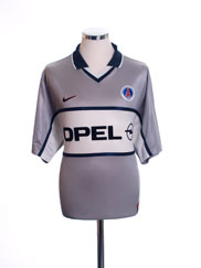 2000-01 Paris Saint-Germain Away Shirt L
