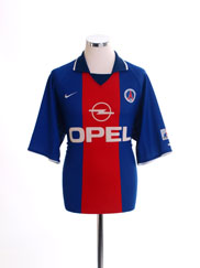 2000-01 Paris Saint-Germain Home Shirt L