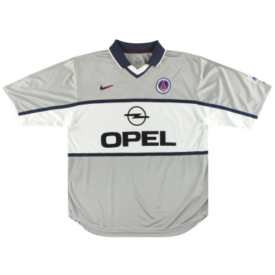 2000-01 Paris Saint-Germain Nike Away Shirt L