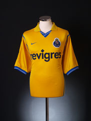 2000-01 Porto Away Shirt L