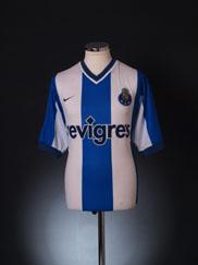 2000-01 Porto Home Shirt L