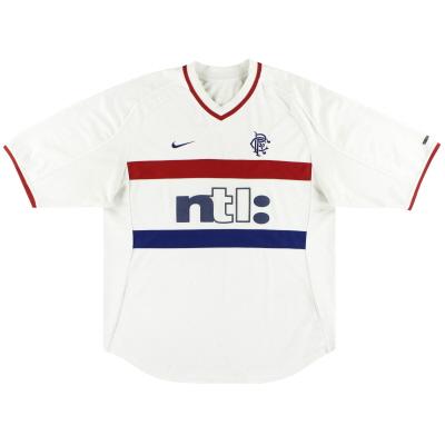 2000-01 Rangers Nike Away Shirt XL.Boys