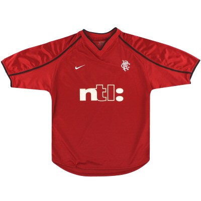 2000-01 Rangers Nike Third Shirt M