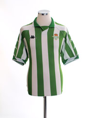 2000-01 Real Betis Home Shirt L