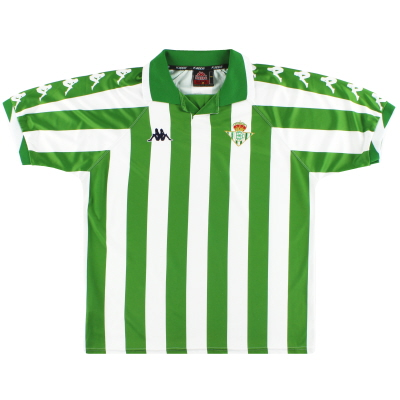 2000-01 Real Betis Kappa Home Shirt L