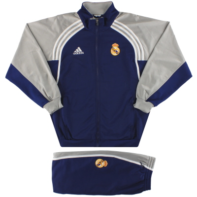 2000-01 Real Madrid adidas Tracksuit L