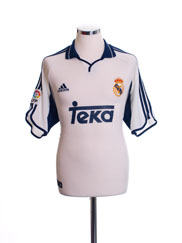 2000-01 Real Madrid Home Shirt L