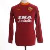 2000-01 Roma Home Shirt Totti #10 L/S S