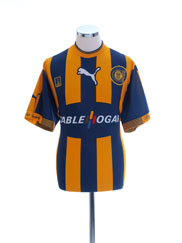 2000-01 Rosario Central Home Shirt #10 XL