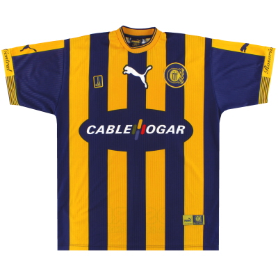 2000-01 Rosario Central Puma Home Shirt #10 XL