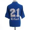 2000-01 Rot Weiss Erfurt Match Issue Away Shirt #21 XL