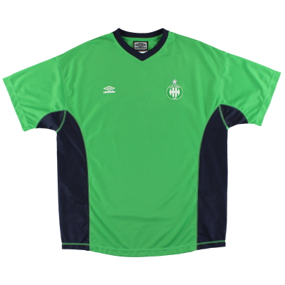 2000-01 Saint Etienne Umbro Training Shirt XL