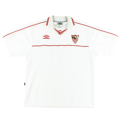 2000-01 Sevilla Home Shirt XL