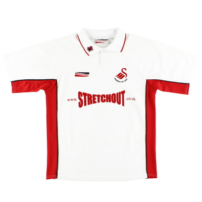 2000-01 Swansea City Home Shirt M