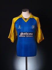 2000-01 Torquay Away Shirt L