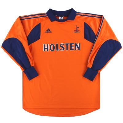 2000-01 Tottenham adidas Goalkeeper Shirt XL