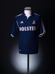 2000-01 Tottenham Away Shirt XL
