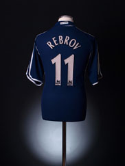 2000-01 Tottenham Away Shirt Rebrov #11 L